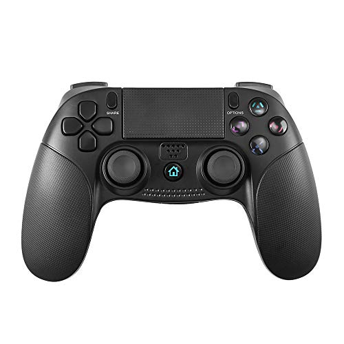 Mando Inalámbrico para PS4, STOGA Controlador PS4 Gamepad Wireless Bluetooth Controlador para Playstation 4 con Vibración Doble Remoto Joystick