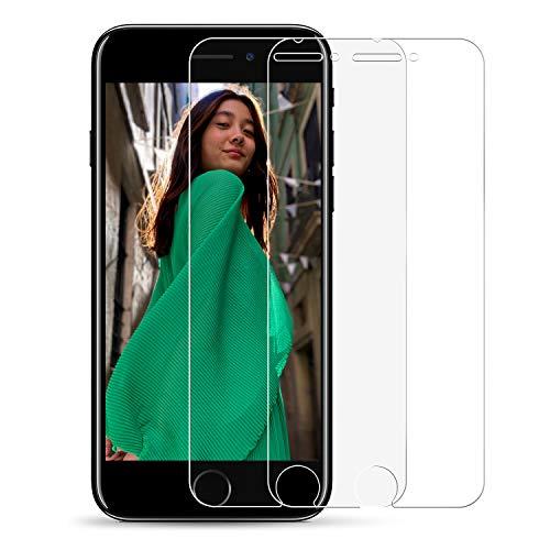 CICIBER [2 Stück Panzerglas Schutzfolie kompatibel für iPhone SE 2020/iPhone 8/7 [Matt] Entspiegelt Displayschutzfolie 9H Härte, Kratzfest, 3D Touch Kompatibel Panzerglasfolie