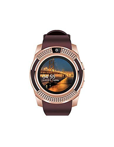 Bluetooth Smartwatch RONEBERG,Smart Watch Phone Call and Text with Touchscreen Camera Notification Sync Compatible for Android iOS Available in 4 coulours R08