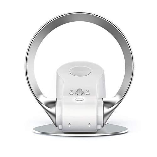 Bladeless ventilator kan opknoping op de wanden of de vloer van de ventilator afstandsbediening bureau met regelbare snelheid timingsfunctie blijven,Silver