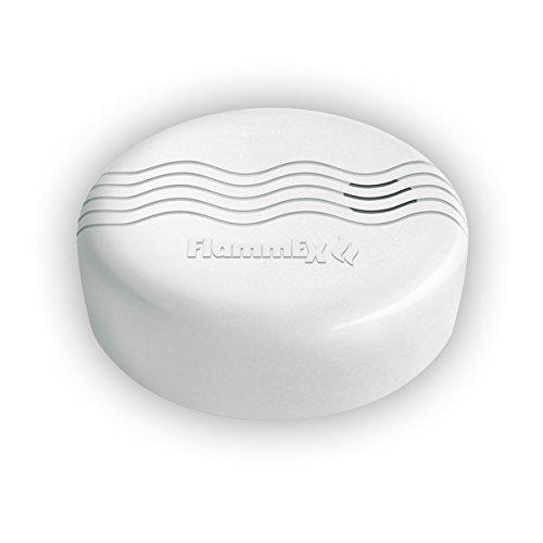 FlammEX GEV Wassermelder FMW 4573, batteriebetrieben, mobiles Gerät, Wasserdetektor, weiß