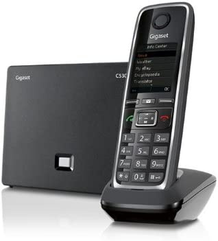 Gigaset Manufacturer OFFicial shop C530 IP – Cordless Popularity VoIP TFT with Phone Color Displ Large