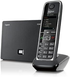 Gigaset C530 IP - Teléfono Inalámbrico con Tecnología IP, Compatible SIP, Manos Libres, Pantalla en color