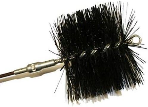 Rutland Luxury MST-6 6 in. Seattle Mall Diameter Brush Master Sweep Round Wire