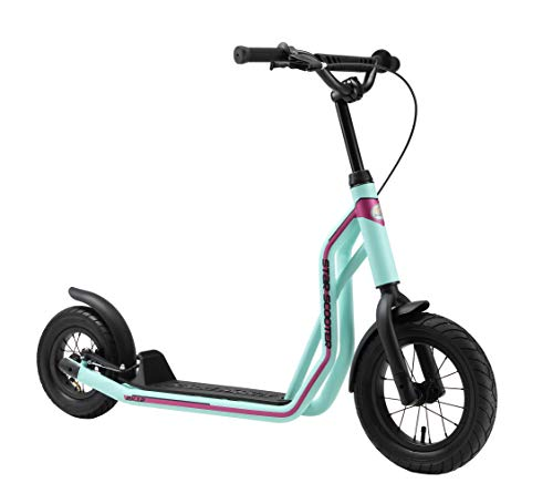 STAR SCOOTER Kinder Tret Roller ab 6-7 Jahre | 12/10 Zoll Mixed City Kick Scooter Luftreifen | Mint