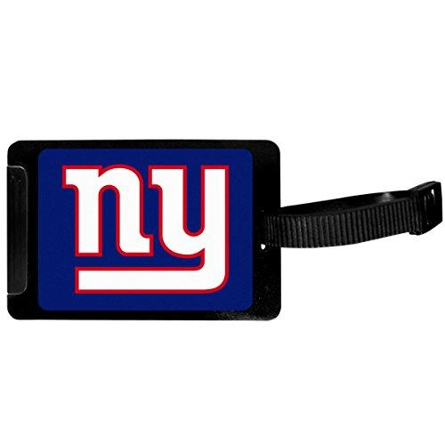 Siskiyou Sports New York Giants Luggage Tag, Black, 3.25'