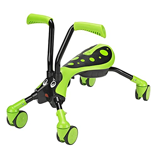 Scramblebug 8512 - Correpasillos con diseño de Insecto, Color Verde y Negro