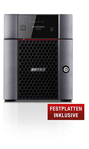 BUFFALO TeraStation 3420 Partial 16TB NAS HDD 2x8TB 1x2.5GbE 1x1GbE RAID 0/1/5/6/10
