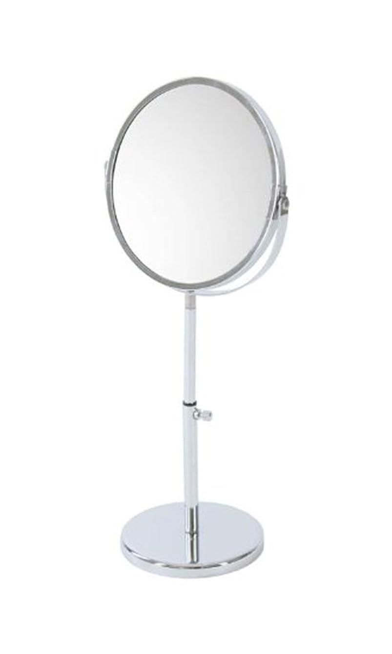 散逸扱いやすい表現narumikk メイクアップミラー 拡大鏡付き 高さ調節可能 26- 800