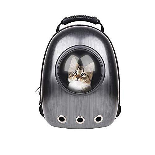 HTYX Bolso del Gato del Perro de Perrito Carrier Pet Travel cápsula Espacial cómoda Respirable Mascota Mochila Duradera Muy Adecuado para Llevar a los Cachorros y Gatos bajo 14kg