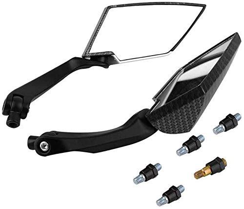 QYA Piezas de la Motocicleta Piezas de la Motocicleta Espejos retrovisores Espejo retrovisor Motor Scooter Parts Accesorios de la Motocicleta Durable de la Pieza de automóvil Material Res