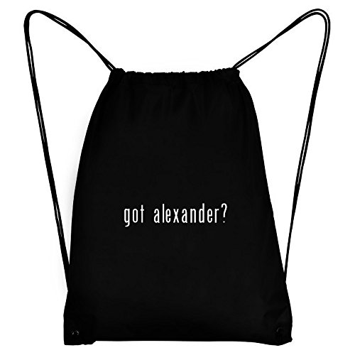 Teeburon Got Alexander? Bolsa Deportiva