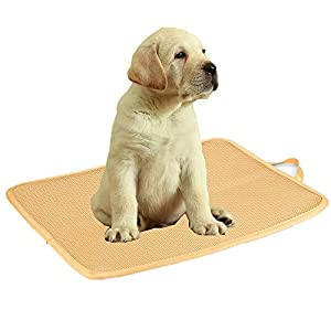 Kimi Homes Kennel Pad – Easy Cleaning Kennel Bed, Quick Drying Kennel Mat with Mesh Technology, Perfect Four Season Functions for Dogs, Cats and More