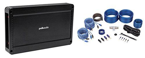Polk Audio PA660.4 600 Watt 4-Channel 2-Ohm Car Audio Amplifier+Amp Kit PA 660.4