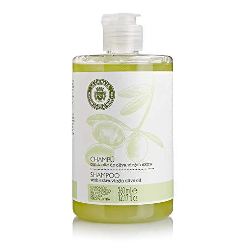 Champú Regenerador Con Aceite De Oliva Virgen Extra - La Chinata - 360 ml