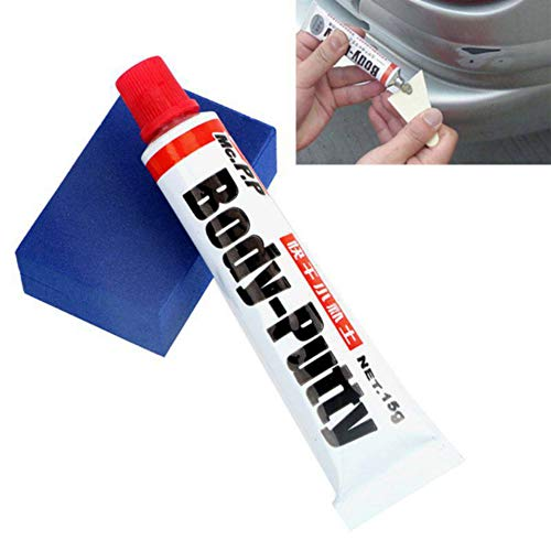 Leezo - Kit de reparación de arañazos para la carrocería del coche