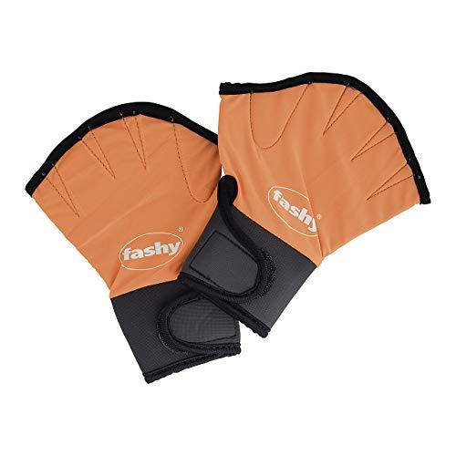 Fashy Aqua Handschuhe, orange/schwarz, S, 4462 S
