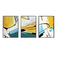 GXZZ抽象壁画、背景壁画、トリプルリビングルーム、装飾画、北欧壁画(サイズ:30cmx40cm)