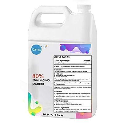 Karma Liquid Refill Hand Sanitizer - 4 Pack of 1 Gallon