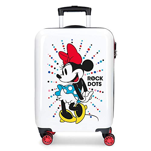 Maleta de cabina Minnie Magic dots rígida 55cm