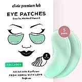Under Eye Mask, Elixir Premium Hydrogel Patches - Collagen Under Eye Gel Pads, Puffy Eyes, Anti-Aging effect, Moisturizing Dark Circle Eye Treatment for Women & Men, Korean Under Eye Treatment, 5 pack