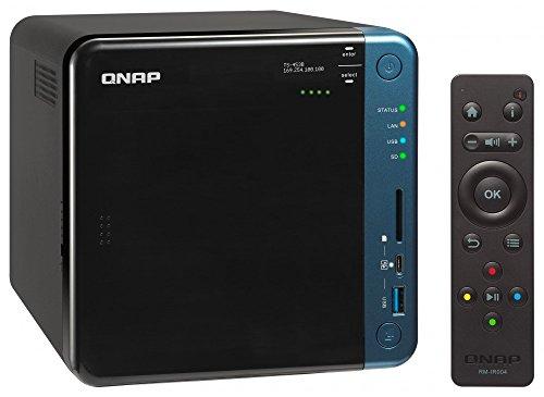"""QNAP TS-453A Ethernet Torre Negro NAS - Unidad Raid (Unidad de Disco Duro, SSD, Serial ATA III, 2.5/3.5"""", 0,1,5,6,10,JBOD, 1,6 GHz, Intel® Celeron®)"""