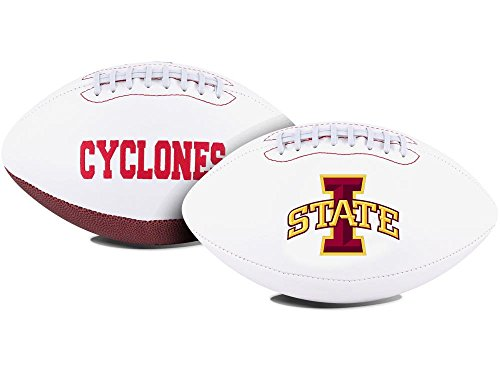 NCAA Signature Series Full Size Autograph Football Iowa State Cyclones