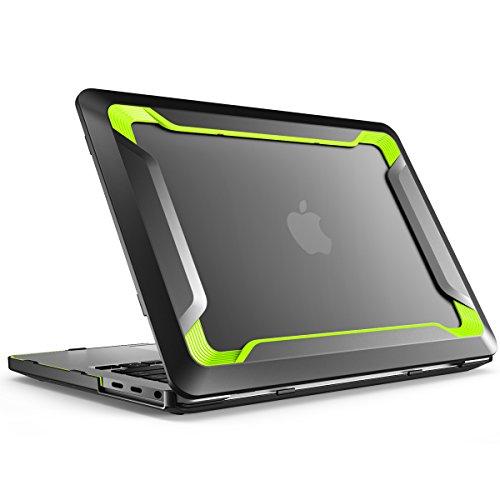 i-Blason Custodia MacBook PRO 15', Cover Rigida [Doppio Strato] TPU Bumper [Antigraffi] Rugged Case per MacBook PRO 15' 2019 2018 2017 2016 con o Senza Touch Bar/Touch ID, Verde