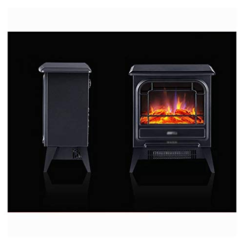 ZXCVBNM Wall Mounted Electric Fire Electric Fire Place, Indoor Heater Log Wood Burning Effect Flame Portable Fireplace Stove Electric Fire Wall Mounted Electric Fireplace Suite