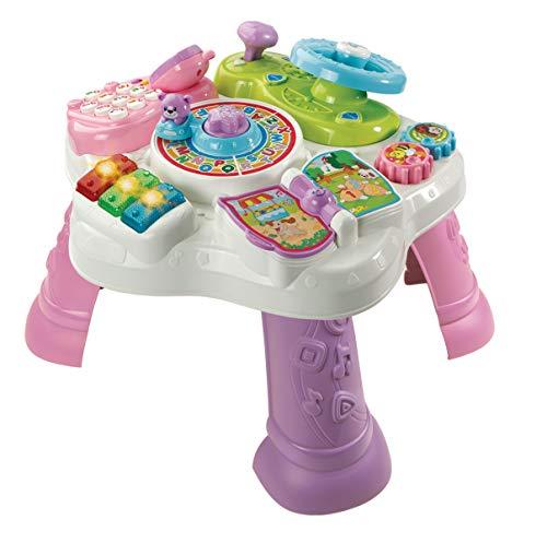 VTech 80-181584 - Abenteuer Spieltisch, Babyspieltisch, EasyMail-Verpackung, pink