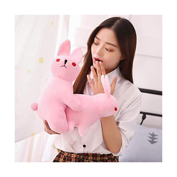 Peluches Rogue Rabbit Stuffed Animal Doll, Peluches Graciosos Conejos, Animal Soft Doll Boy Regalo Decoración para el… 3