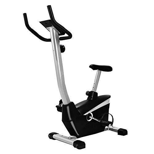 2020 Inizio Spinning Bike, Indoor Cycling Cyclette con Sedile Regolabile E Resistenza Bike Phone Holder