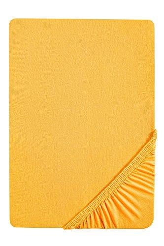 Sábana Bajera amarilla de 140 x 200 cm hasta 160 x 200 cm