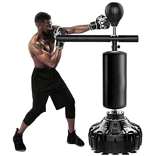 Bolsa de boxeo resistente, barra de spinning para artes marciales para saco de boxeo, boxeo y entrenamiento, saco de arena, para adultos y adolescentes