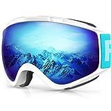 findway Masque de Ski, Lunettes de Ski pour Adulte Homme Femme Jeunesse Junior OTG Masque Ski Compatible avec...