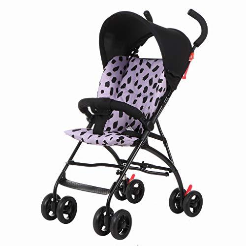 Carritos y sillas de Paseo Carrito Plegable Ligero del Amortiguador de Choque del bebé del Paraguas del Amortiguador de Choque del bebé Bebé Sillas de Paseo