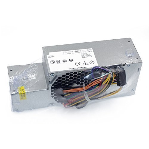 Mackertop 235W Power Supply Compatible Dell Optiplex 580, 760, 780, 960 Small Form Factor (SFF) Systems PW116, FR610, RM112, R224M, WU136, Model Numbers: F235E-00, L235P-01, H235P-00, H235E-00