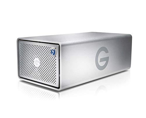 G-Technology G-RAID 20TB (Abnehmbar 2 x 10TB Ultrastar/Enterprise Klass HDD) RAID 0/1 Thunderbolt 3, USB-C, 500MB/s, 5 Jahre Garantie