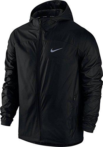 Nike M NK Shld JKT HD Racer Veste pour Homme S Noir