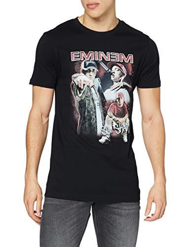 Mister Tee Herren Eminem Slim Shady Tee T-Shirt, Black, L