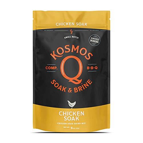 Kosmos Q Soak & Brine BBQ Chicken Soak Brine Mix, Pack of 16 Oz
