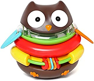 Skip Hop Explore and More Rocking Owl Stacker Toy, 18 cm Height