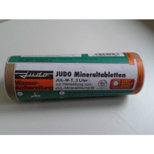 Judo Mineraltabletten JUL-W für Härtegrad 1+2, für 3 Liter