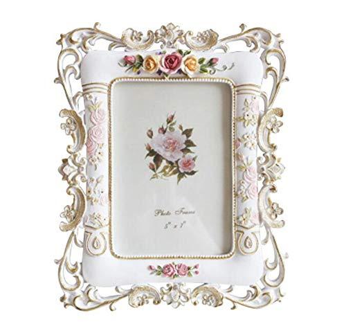 Fotolijsten 6 Inch Europese Vintage fotolijst bruiloft fotolijst, reisfoto, verjaardag Memorial Frame, kerstcadeau