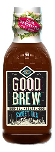 Arizona Tea | All Natural Good Brew Sweet Tea & Organic Bottled Iced Tea | Organic Ingredients + Real Flavor