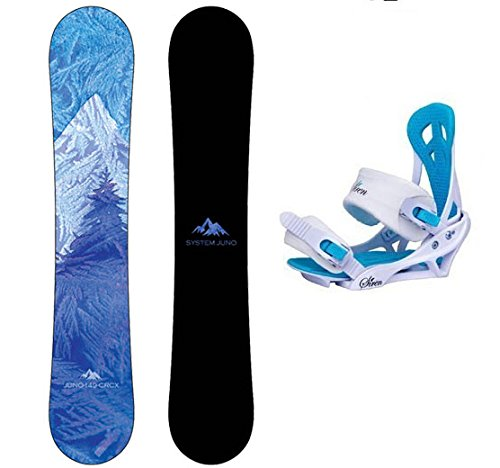 System 2020 Juno and Mystic Women's Snowboard Package (145 cm)