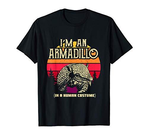 Im an Armadillo in a human costume - Cute Armadillo T-Shirt