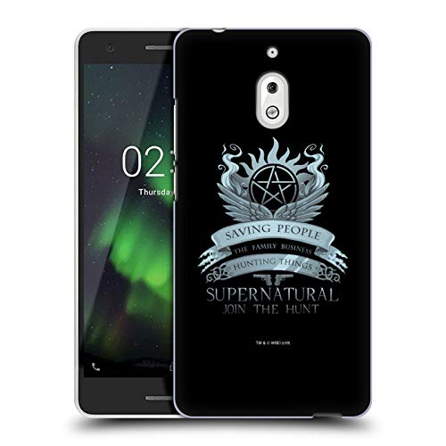 Head Case Designs Ufficiale Supernatural Saving People Logo Vettori Cover Dura per Parte Posteriore Compatibile con Nokia 2.1