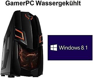 HeidePC | GamerPC Waku | Línea Naranja I | Intel i7-4771 4x3.5 (3.9) | AMD Radeon R9 295X2 8GB | ASRock Z97X Killer | Waku Corsair H80i | 4GB DDR3 | 256GB SSD | HDD de 1 TB | 24x DVD ± RW Conduzca | 16x Bluray quemador | Win 8.1 Pro de 64 bits