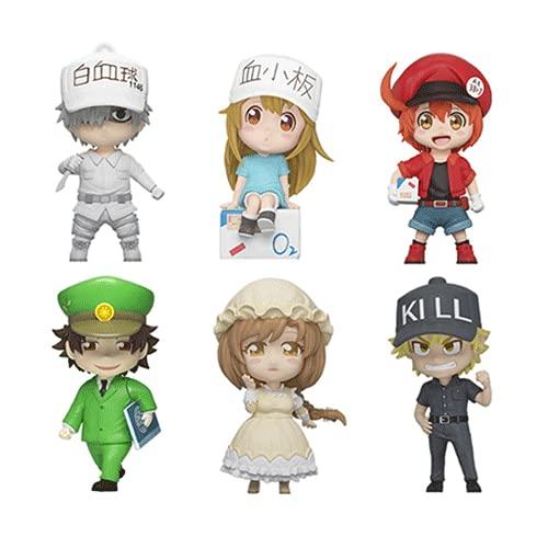 DGSPGD Hataraku Saibou 6 Q Versión Juego Animación Modelo de Personaje Regalo Regalo de cumpleaños Modelo de Juguete Adornos de decoración